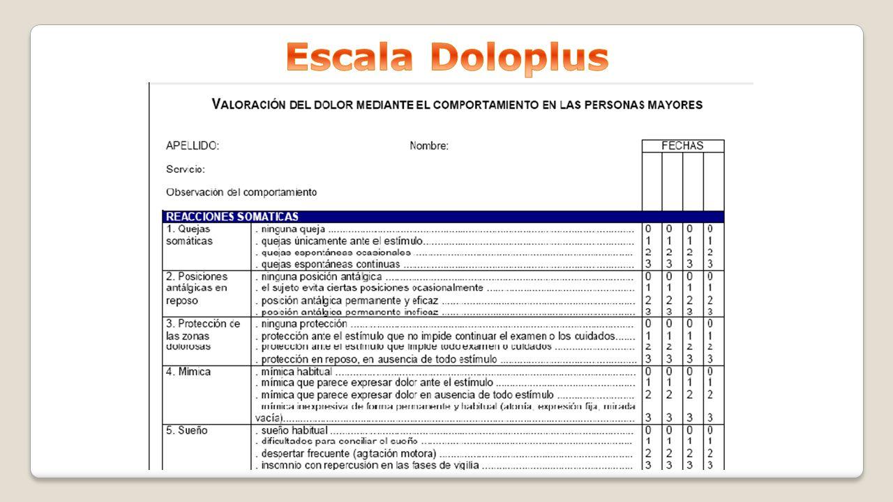 Escala Doloplus