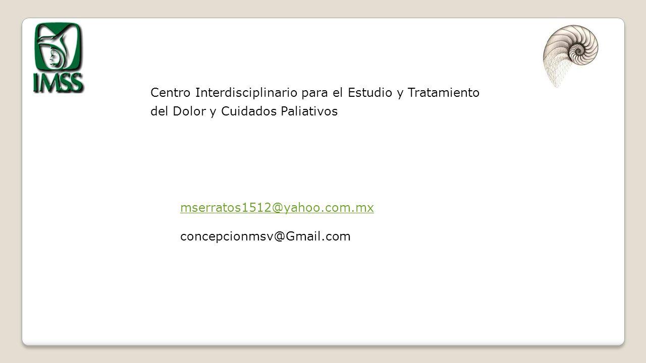 Centro Interdisciplinario para el Estudio y Tratamiento del Dolor y Cuidados Paliativos
