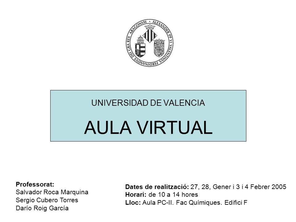 universidad de valencia ppt descargar