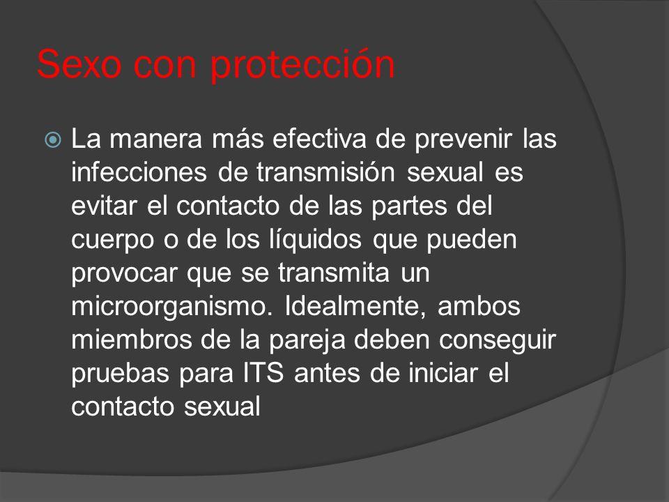Sexo con protección