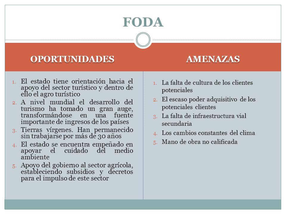 FODA OPORTUNIDADES AMENAZAS