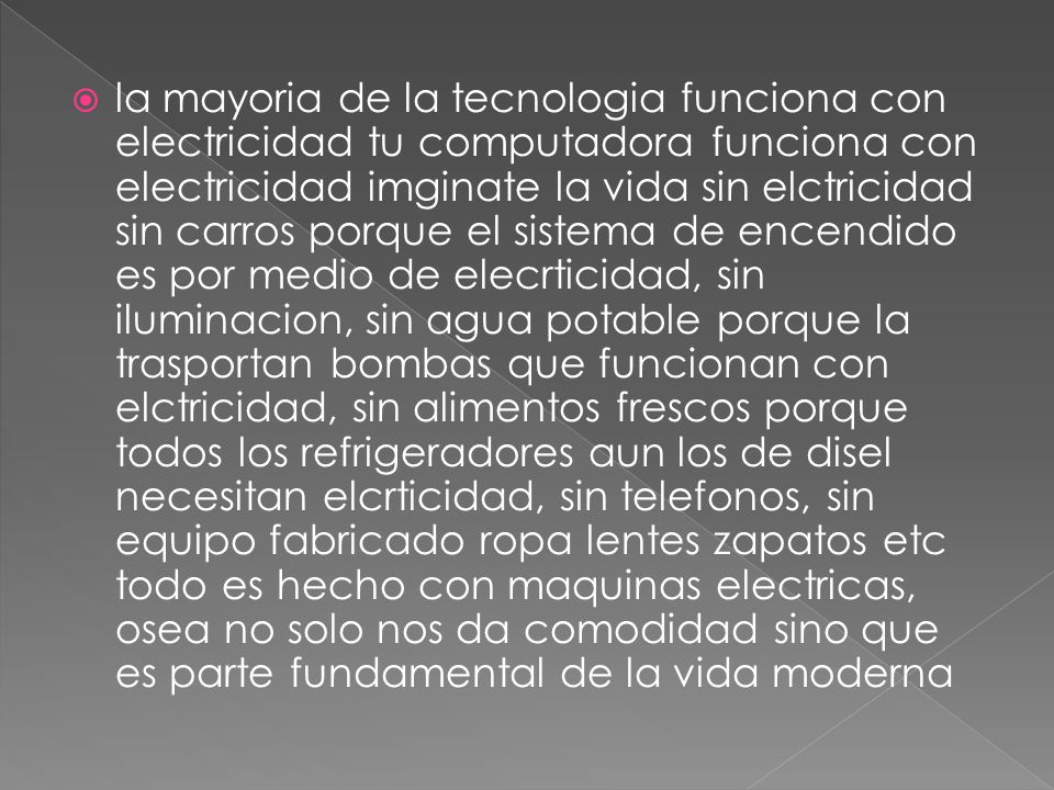 La electricidad maria valeria posada guar n marelyn - Iluminacion sin electricidad ...