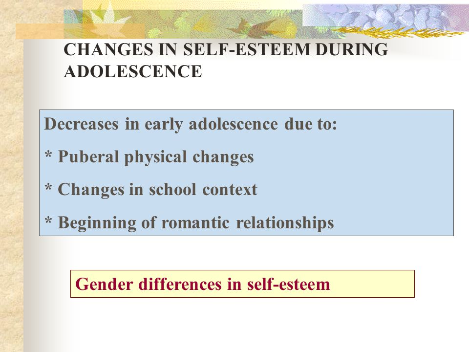 relationship between identity development self esteem and academic performance