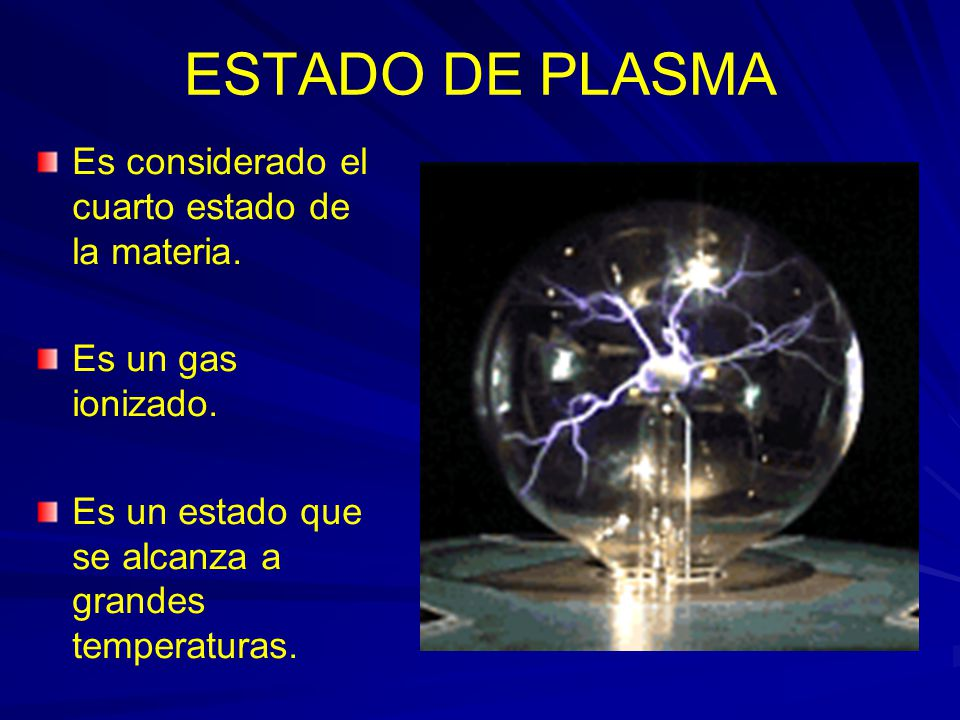 Estados de la materia ppt descargar for Cuarto estado de la materia