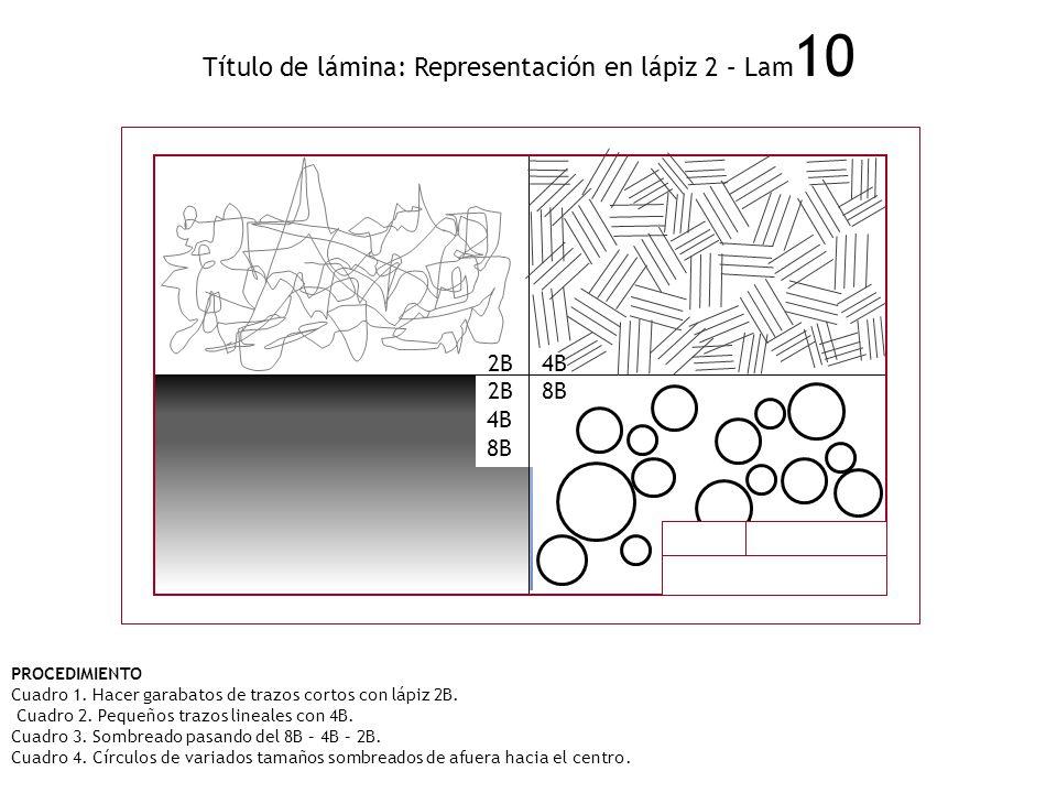 Título de lámina: Representación en lápiz 2 – Lam10