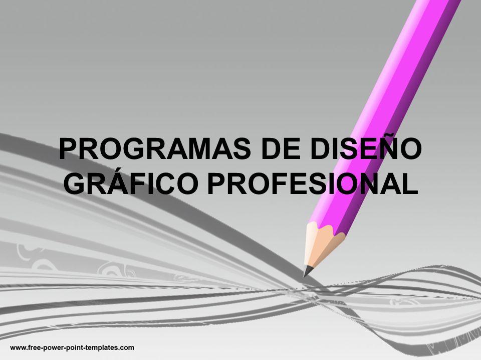 Programas de dise o gr fico profesional ppt descargar for Programa diseno cocinas profesional