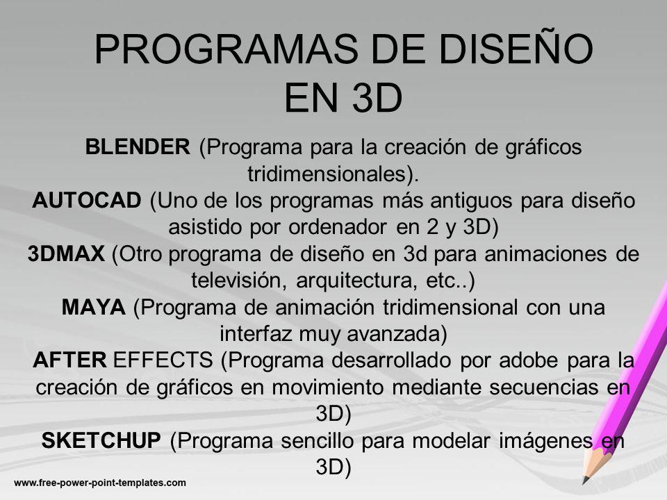Programas de dise o gr fico profesional ppt descargar for Programas de arquitectura y diseno