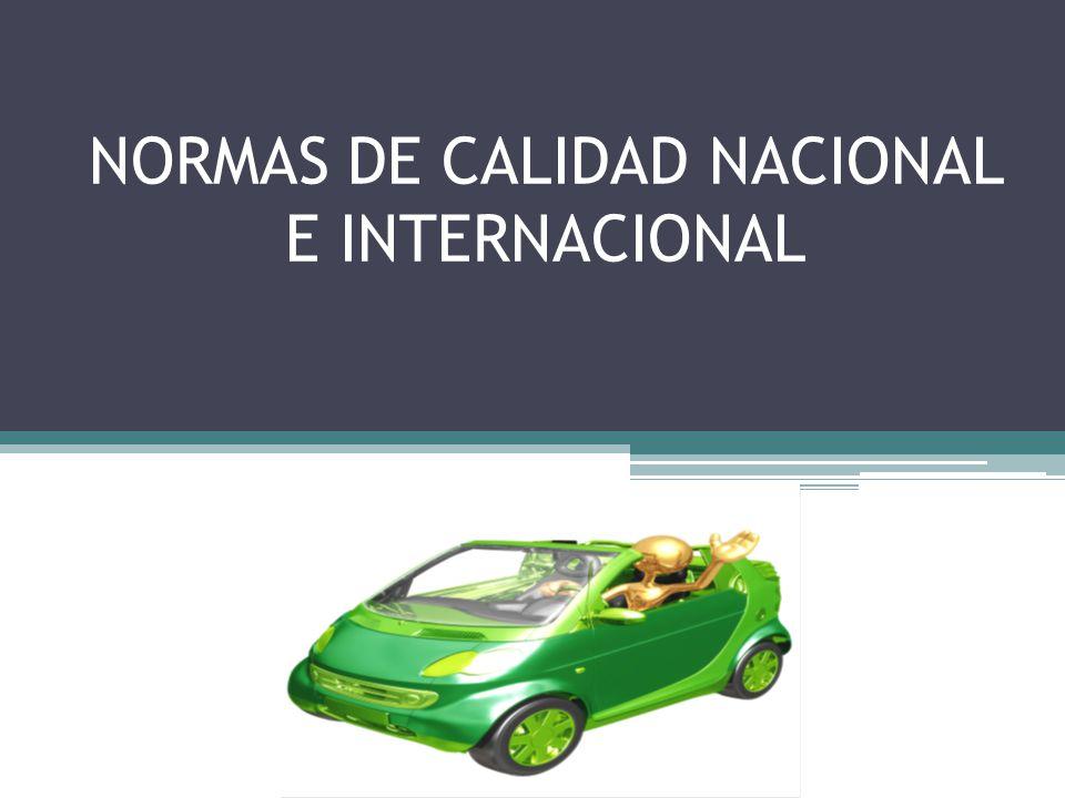 Normas de calidad nacional e internacional ppt descargar for Oficina nacional de fiscalidad internacional
