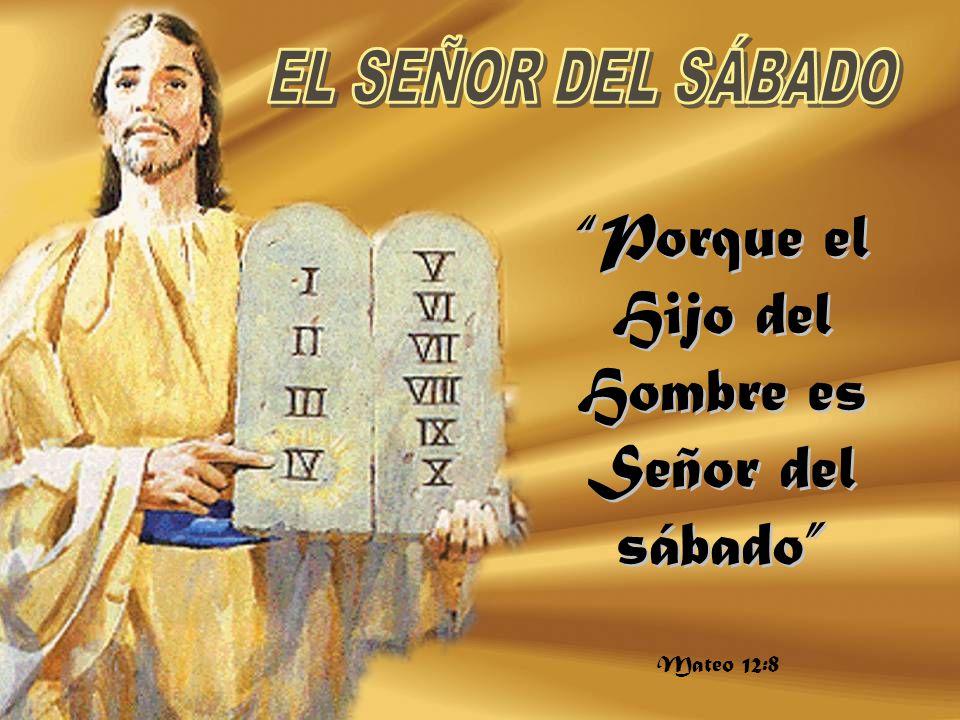 Resultado de imagen para El Hijo del Hombre es señor del sábado