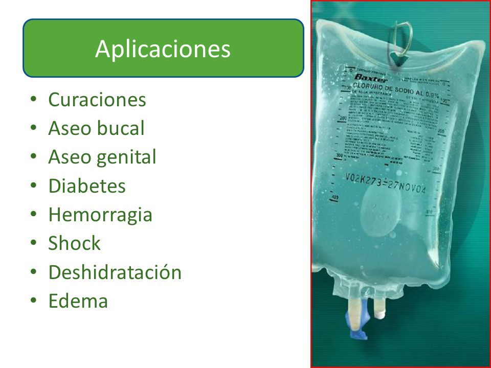 Aplicaciones Curaciones Aseo bucal Aseo genital Diabetes Hemorragia