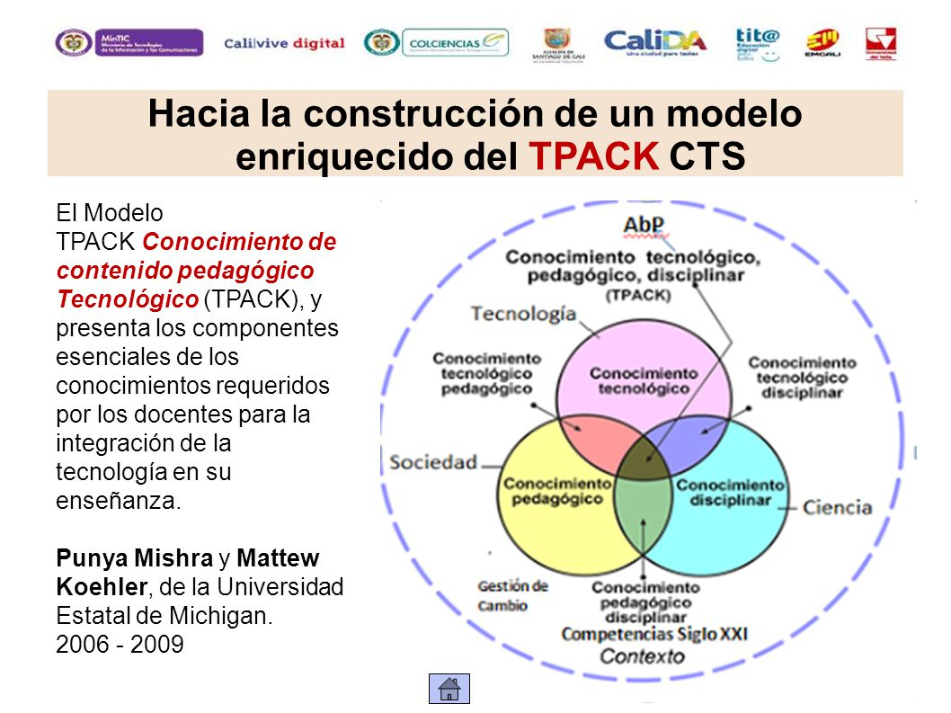 Hacia la construcción de un modelo enriquecido del TPACK CTS