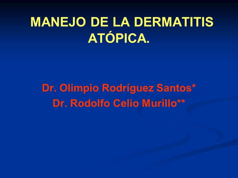 MANEJO DE LA DERMATITIS ATÓPICA.