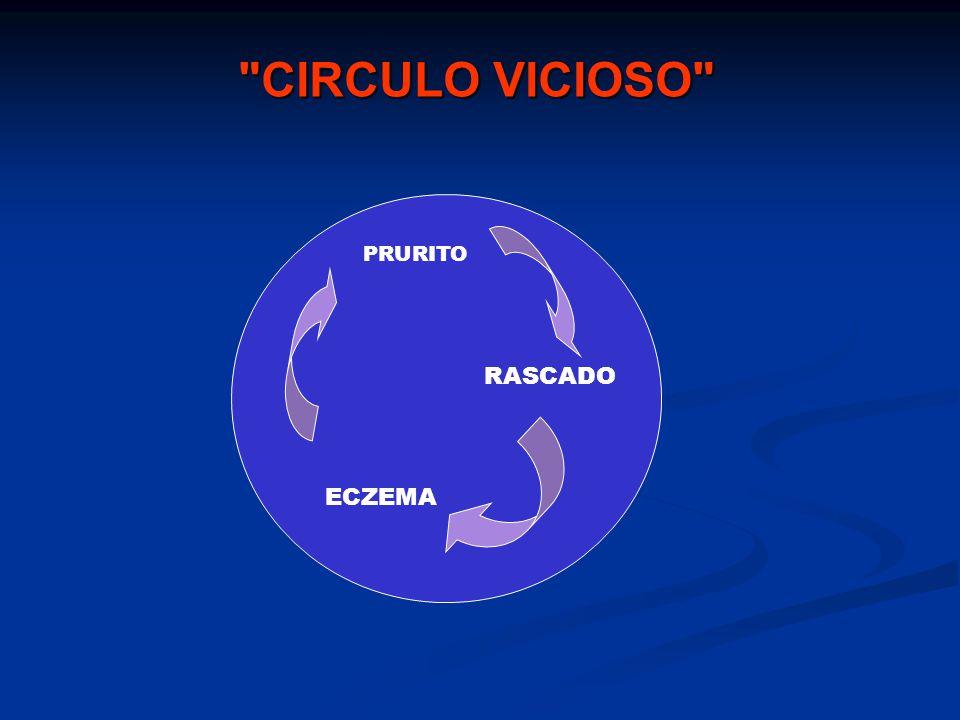 CIRCULO VICIOSO RASCADO ECZEMA PRURITO