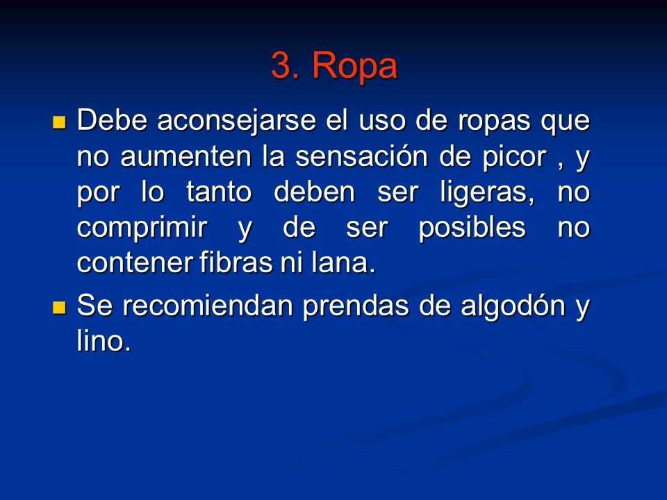 3. Ropa