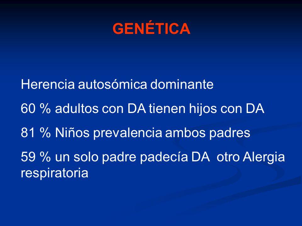 GENÉTICA Herencia autosómica dominante