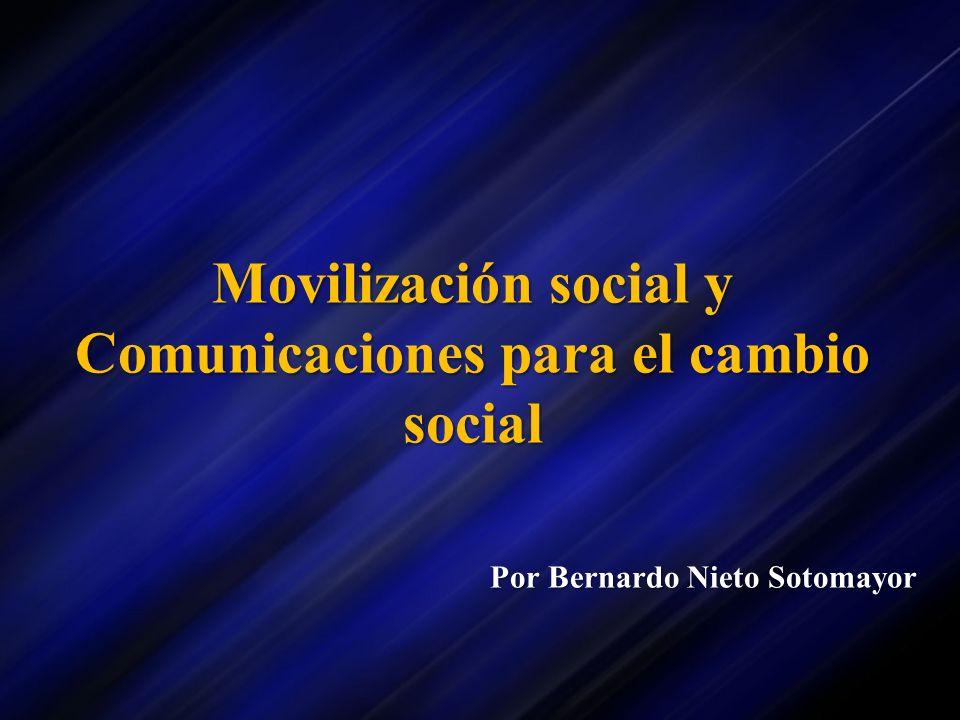 Movilización social y Comunicaciones para el cambio social