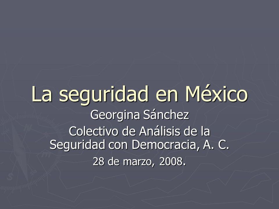 Colectivo de Análisis de la Seguridad con Democracia, A. C.