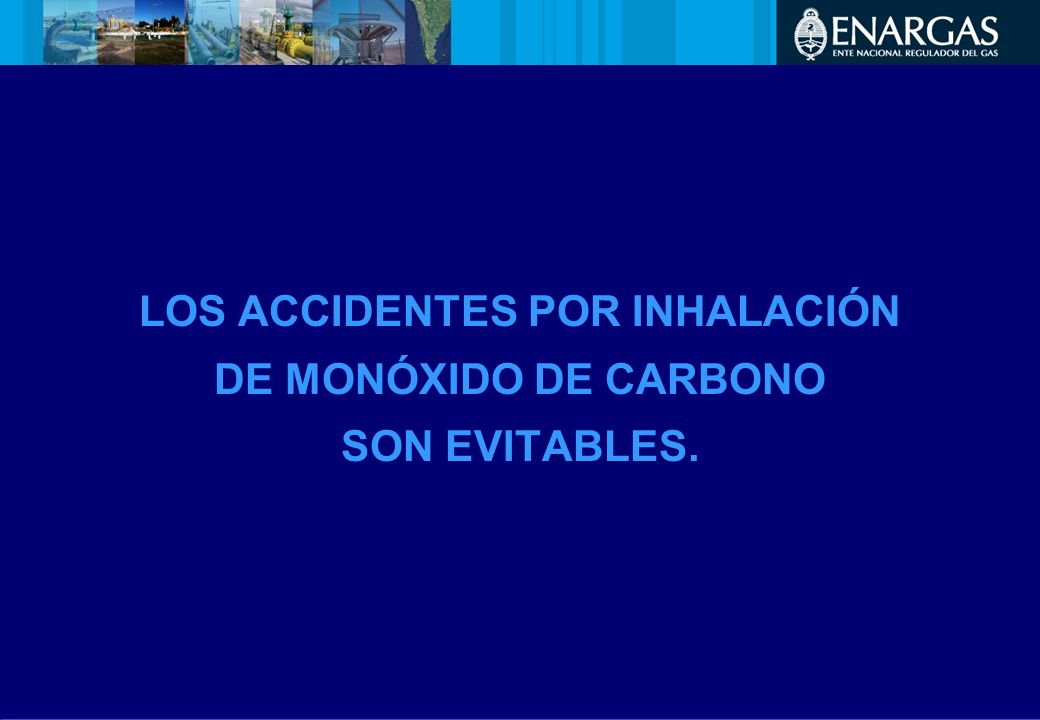 LOS ACCIDENTES POR INHALACIÓN