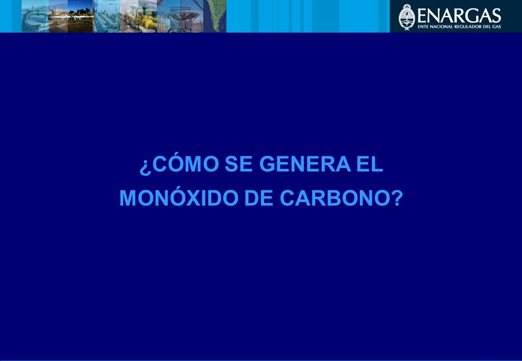 ¿CÓMO SE GENERA EL MONÓXIDO DE CARBONO