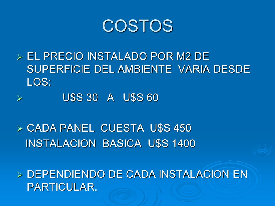 Precio m2 best precio m2 with precio m2 simple precios for Suelo radiante precio m2