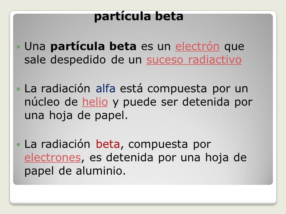 Fenomenos nucleares radiactividad ppt video online for Que es una beta de oro