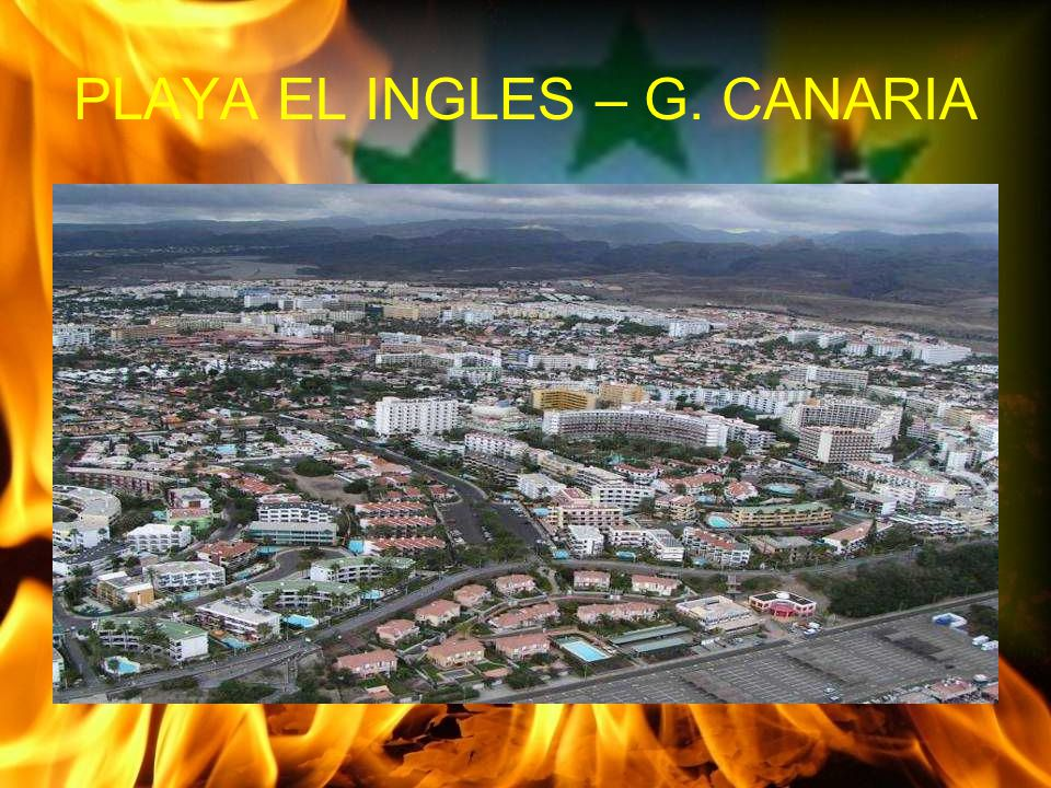 PLAYA EL INGLES – G. CANARIA