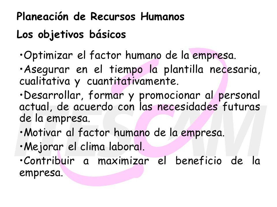 PLANEACIÓN DE LOS RECURSOS HUMANOS - ppt descargar