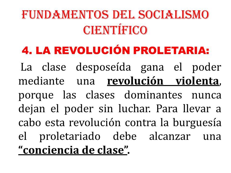 FUNDAMENTOS DEL SOCIALISMO CIENTÍFICO
