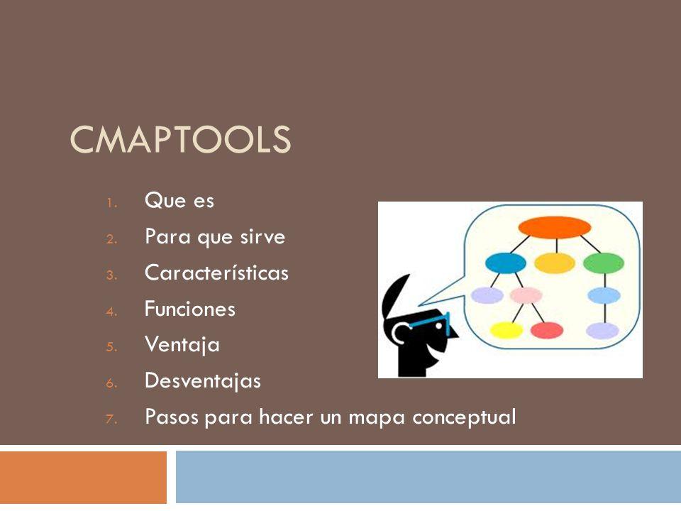 Cmaptools que es para que sirve caracter sticas funciones - Para que sirve una vaporeta ...