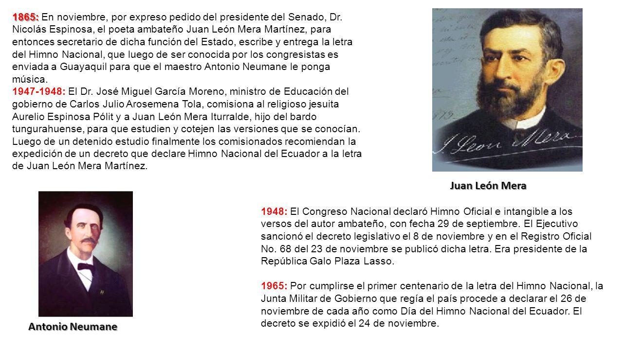 Juan León Mera Antonio Neumane