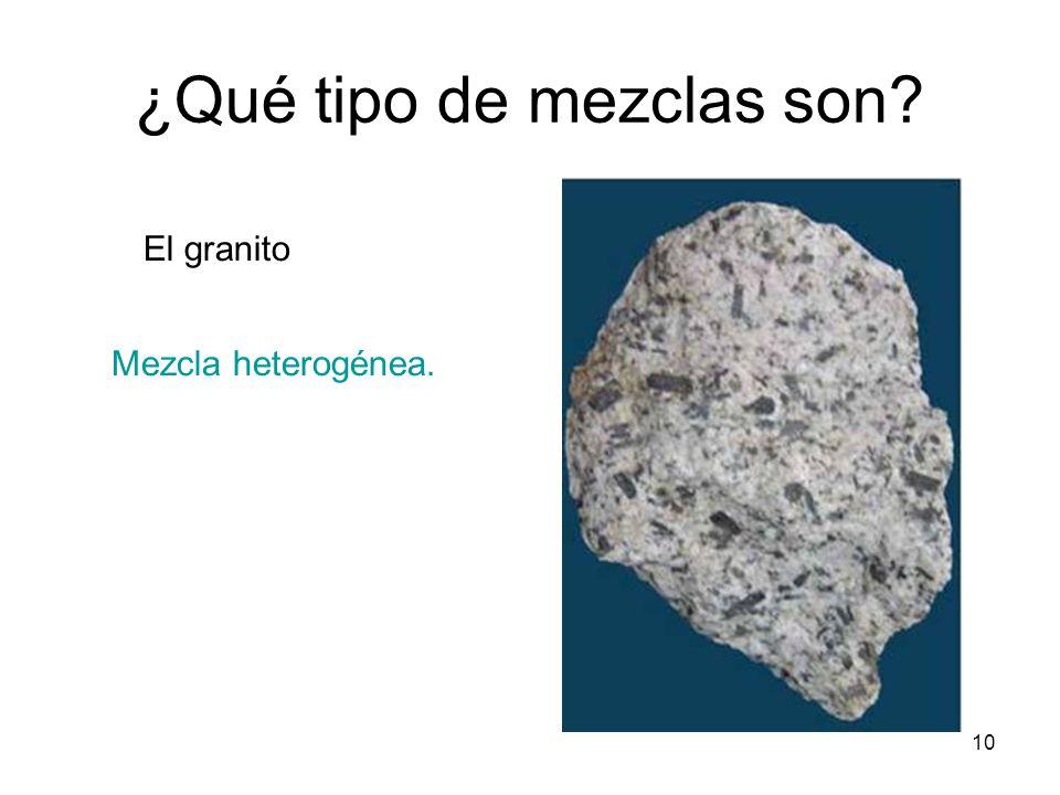 Mezclas y disoluciones ppt descargar for Que tipo de mezcla es el marmol