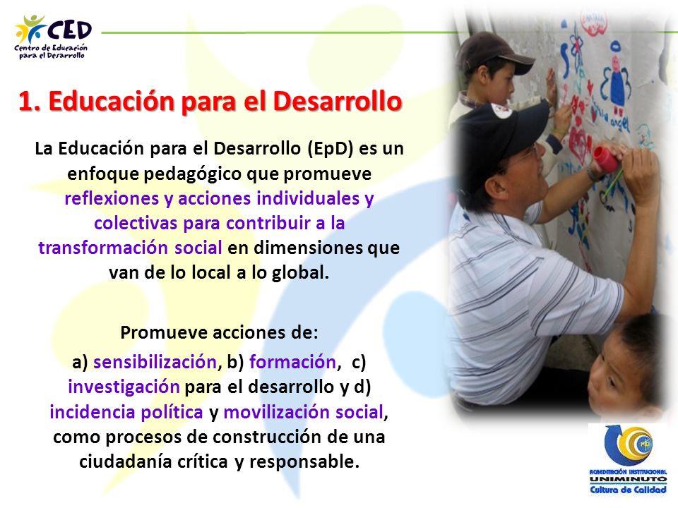 1. Educación para el Desarrollo