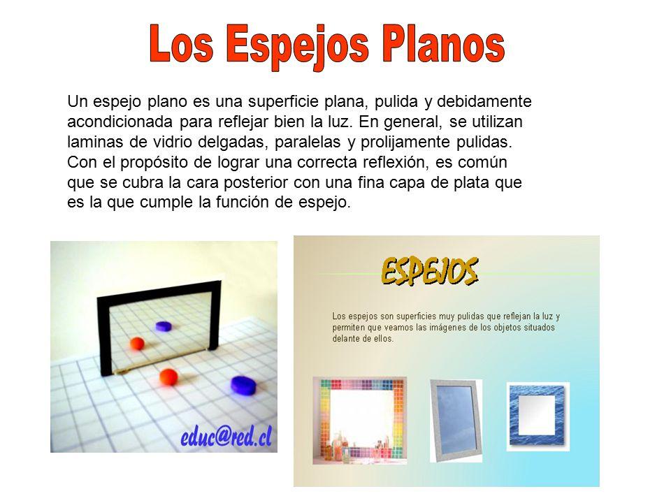 Espejos planos y esfericos ppt video online descargar for Espejo que no invierte la imagen