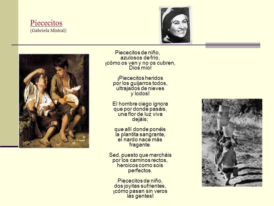 Piececitos (Gabriela Mistral)