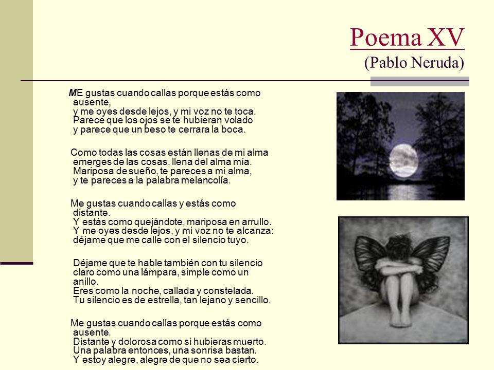 Poema XV (Pablo Neruda)
