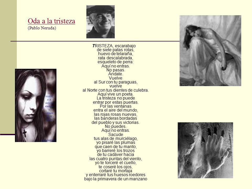 Oda a la tristeza (Pablo Neruda)