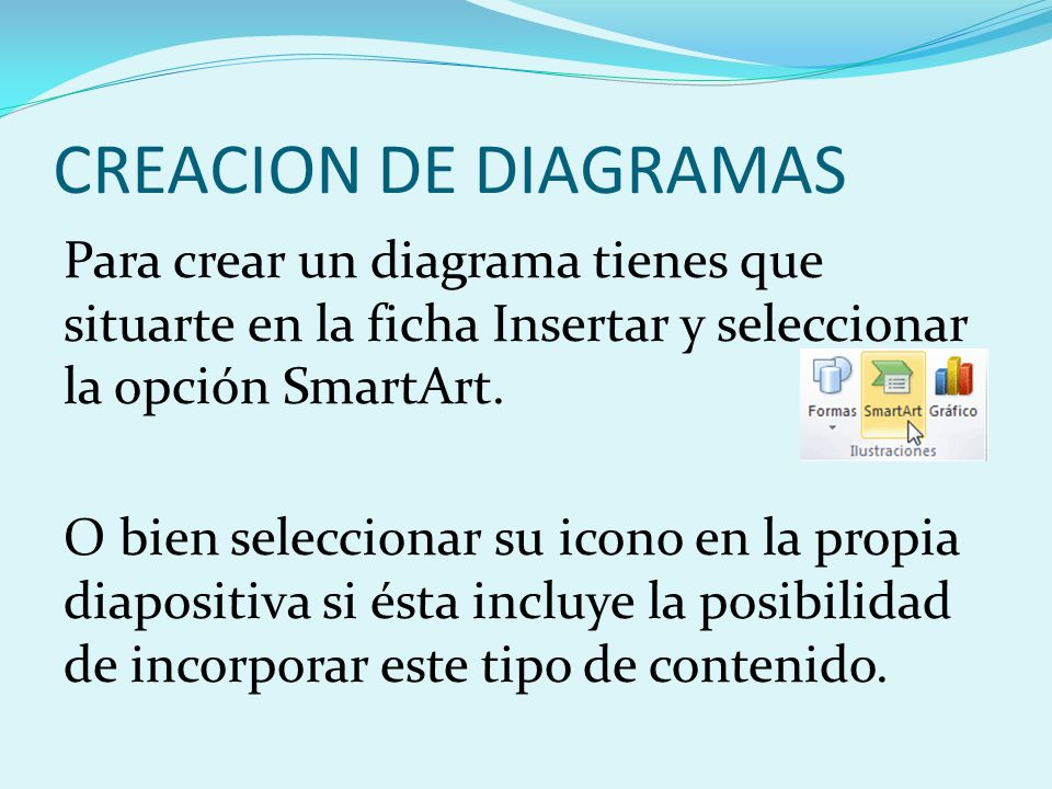 CREACION DE DIAGRAMAS