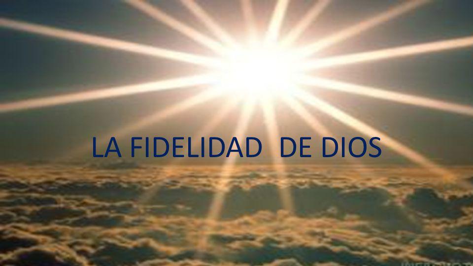 Fidelidad Matrimonio Biblia : La fidelidad de dios ppt video online descargar