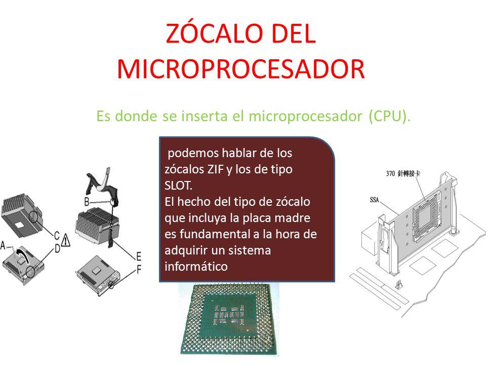 Z calo del microprocesador ppt descargar for Tipos de zocalos