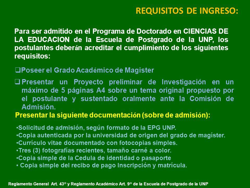 DOCTORADO EN CIENCIAS DE LA EDUCACIÒN - ppt descargar
