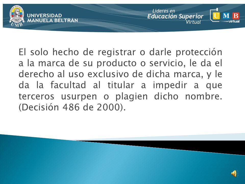 propiedad industrial registro de marcas ppt descargar