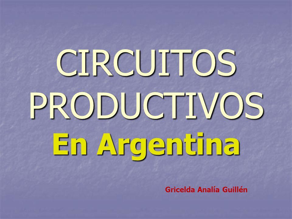 Circuito Yerbatero Argentina : Circuitos productivos ppt video online descargar