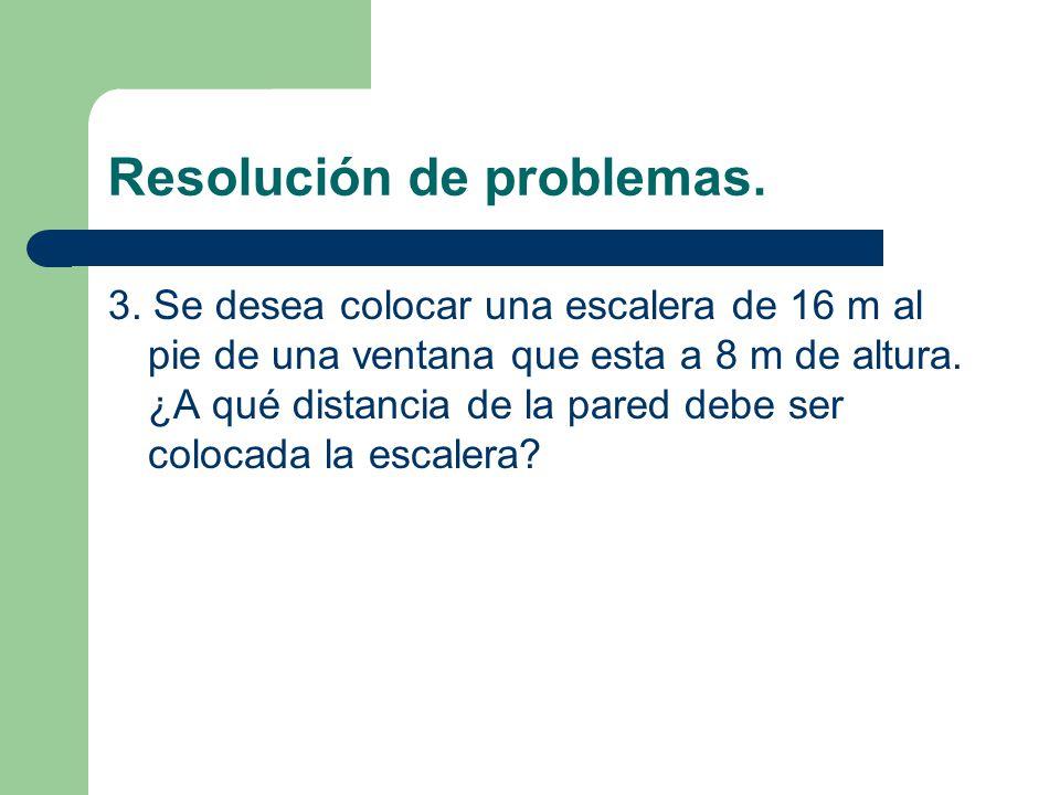 Resolución de problemas.