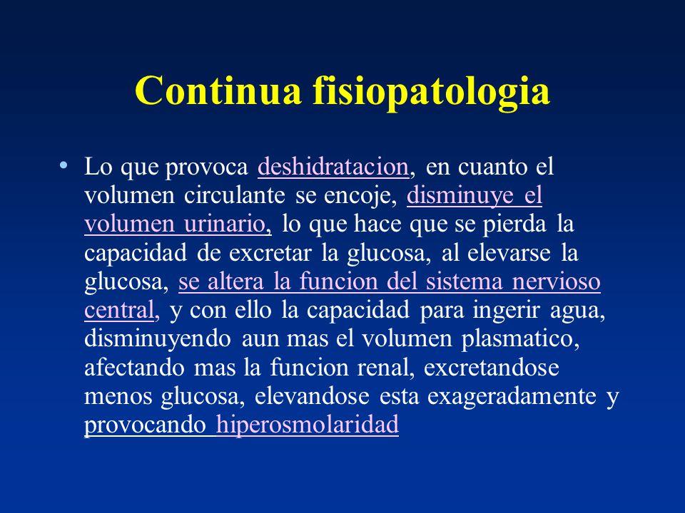ESTADO HIPEROSMOLAR NO CETOTICO - ppt descargar