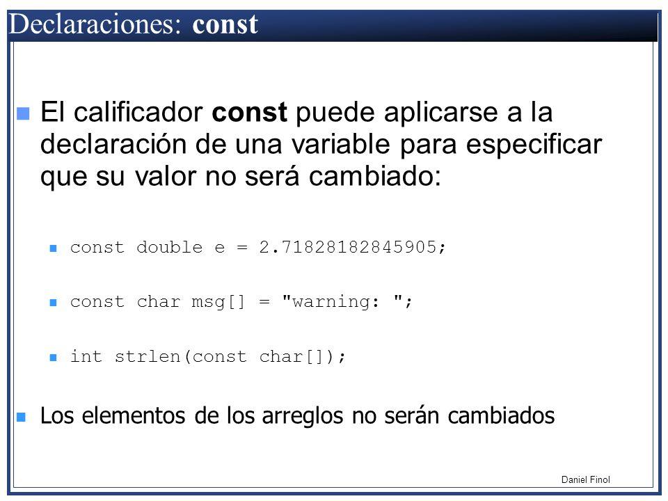 T cnicas de programaci n lenguaje c ppt descargar for En programacion dato que no cambia su valor