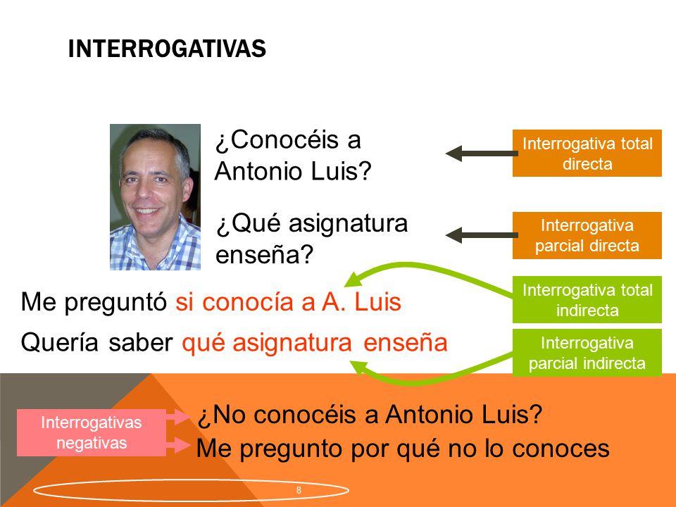 ¿Conocéis a Antonio Luis