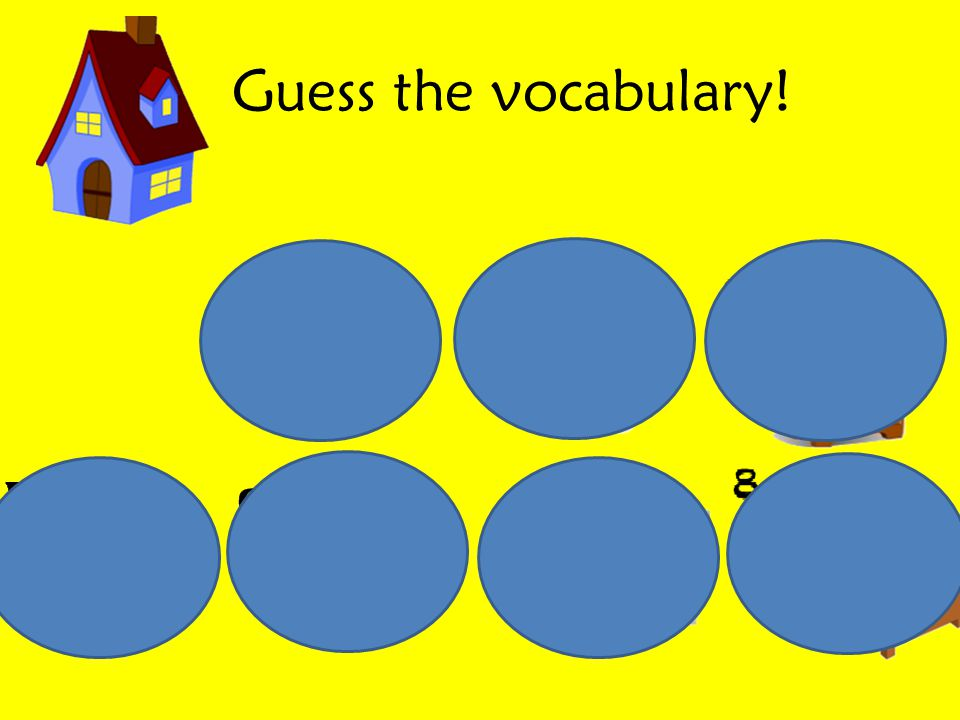 Guess the vocabulary!