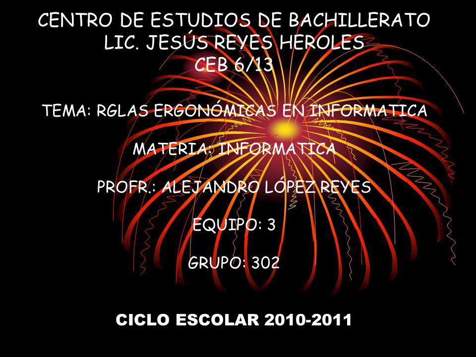 CENTRO DE ESTUDIOS DE BACHILLERATO LIC