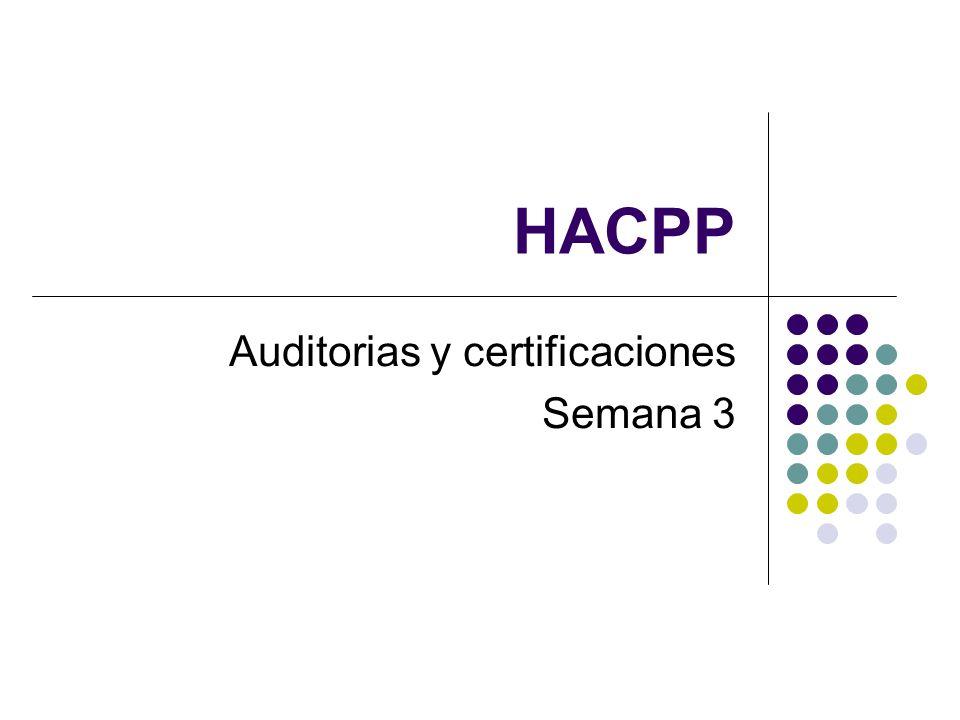 Auditorias y certificaciones Semana 3