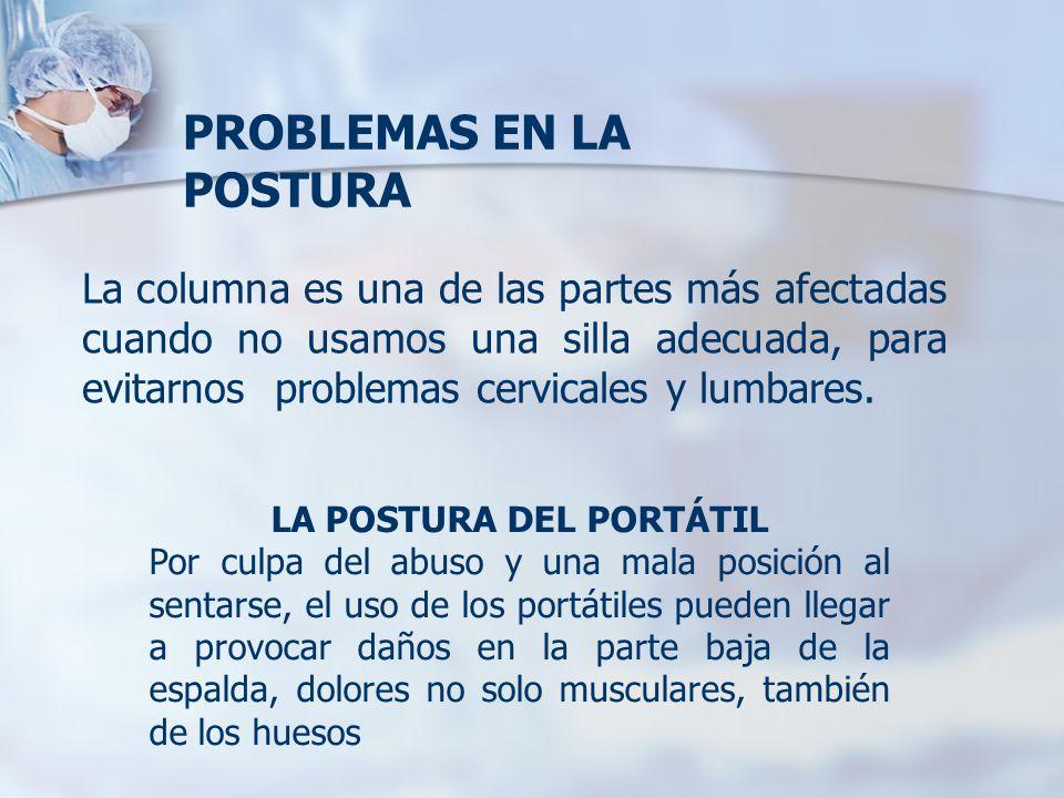 LA POSTURA DEL PORTÁTIL